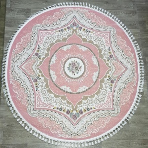 Ковер 36073a pink pink daire